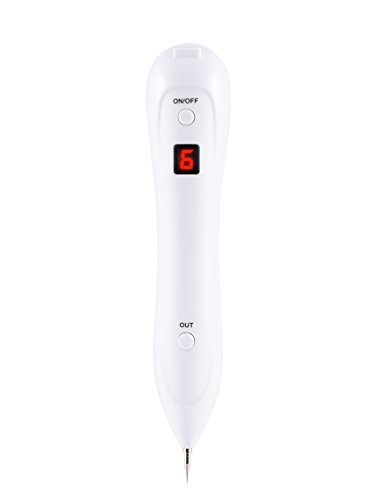 Spot Eraser Pro, iFanze Professional Mole Remover Pen for Skin Tag Freckles Dark Spot Skin Pigmentation Tattoo with Replaceable Needles and USB Charging