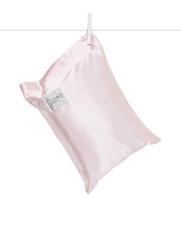 Little Giraffe Satin Nap Pillow, Pink, 10