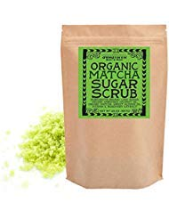 - Svasthya Organic Matcha Sugar Scrub for Face and Body 100% All Natural Deep Cleansing & Exfoliating to Detox and Revitalize Skin, 20 oz