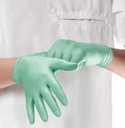 MIIMDS195286 - Medline Aloetouch Ice Nitrile Exam Gloves