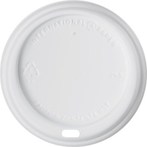 Soho Paper Hot Cup (International Paper LHRDS16 Soho White 10-20 oz Hot Cup Lid , 600 ct)