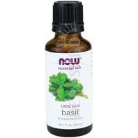 NOW Foods - Basil Oil 1 Oz (Pack of 2) - Foods Basil Oil