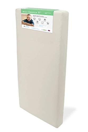 Colgate Eco Classica Iii Dual Firmness Crib Mattress Eco Friendly Foam Organic Waterproof Cotton Cover Greenguard Gold Certified Hypoallergenic