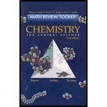 Chemistry: The Central Science (Math Review Toolkit)