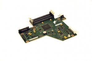 HP C4261-60001 OEM - Formatter board - Main Logic PCA - LIU board connects - Logic Board Main Pca