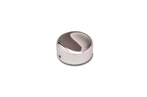 Show Chrome Accessories (63-124) Chrome Choke Knob Cover ()