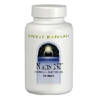 Niacin, 250 mg, 250 Tabs by Source Naturals (Pack of 6) by Source Naturals