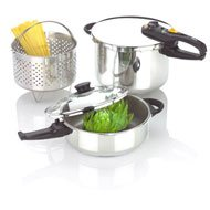 Fagor Duo Combination 2 - in - 1 Pressure Cooker Set by FAGOR
