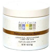 Aura Cacia Body Butter Og1 Cocoa Btr 4 -