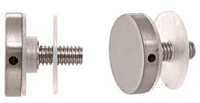 CRL Brushed Stainless Standoff Cap Assembly for 1-1/4