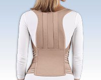 Soft Form Posture Control Brace Back Support Latex Free. Medium