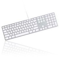 Apple Aluminum Wired Keyboard MB110LL/A - coolthings.us