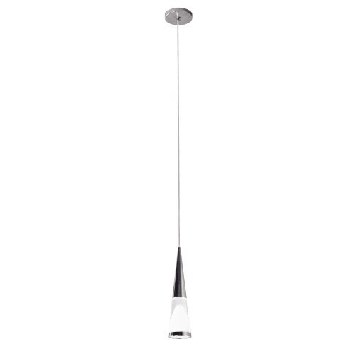 Bazz P15746ch Intergraded Led Single Pendant With Acrylic Shade