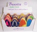 Hill Brush Beastie Body Brush - Horse/Pony Grooming - Vibrant Colours!