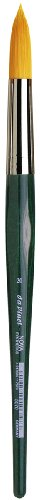 da Vinci Watercolor Series 5570 CosmoTop Nova Paint Brush, Round Synthetic with Short Green Handle, Size 20 (5570-20) (5570 Series)