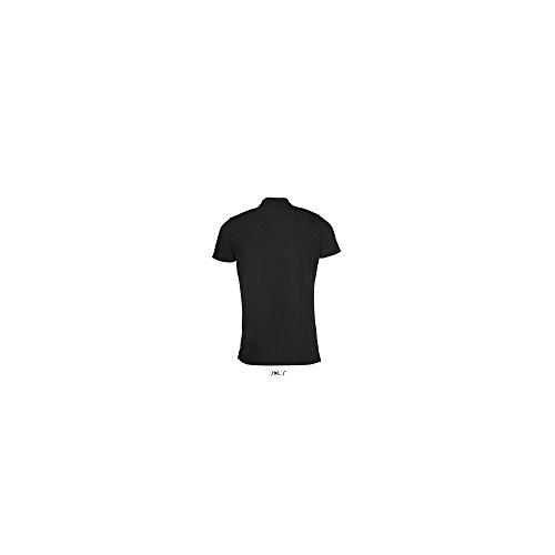 SOL´S Mens Sports Polo Shirt Performer, L, Black