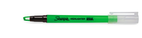 Sharpie Clear View Highlighter Stick, Green, Box of 12 (1950450) by Sharpie (Image #6)