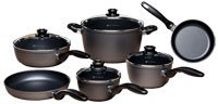 Swiss Diamond Nonstick 10 Piece Cookware Set + Bonus for sale  Delivered anywhere in USA