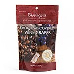 Dark Chocolate Covered Wine Grapes by Bissingers (3.5 ounce)