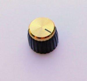 Jellyfish Audio set da 2 manopole oro per amplificatori Marshall, per controlli con scanalature/fessure JellyfishAudio-177