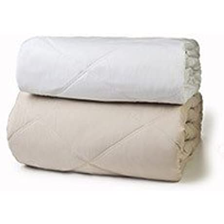 Golden Mills Diamond Eco Green Blankets Queen Size WHITE