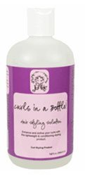 Curl Junkie Curls in a Bottle! Hair Styling Solution - 12 oz