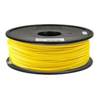 Inland 1.75mm Yellow ABS 3D Printer Filament - 1kg Spool (2.2 - Center Inland