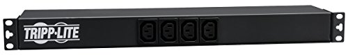 Tripp Lite Basic PDU, 16A, 14 Outlets (12 C13 & 2 C19), 100-240V, C20 Input, 1U Rack-Mount Power (PDU12IEC) by Tripp Lite