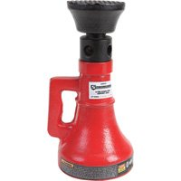 Strongway Screw/Support Jack - 5-Ton Capacity, 9 1/2in.-13 3/8in. Lift Range
