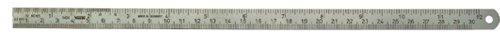 Stahlwille 77460001Metric/Inch Steel Ruler, 300mm Length