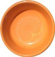 (Fiesta Petware Vitrified Porcelien Bowl (tangerine, medium))