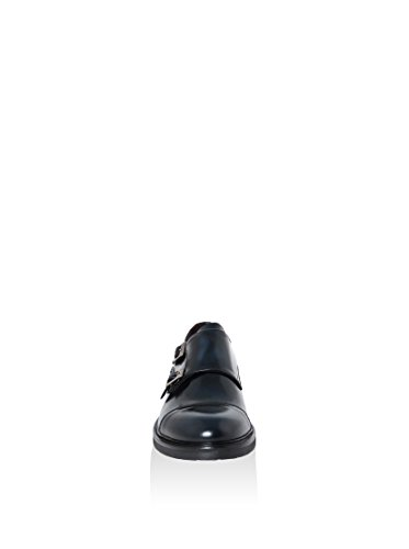 LE DUCCIO Zapatos Monkstrap Azul Noche EU 41 oXqW5SAz8