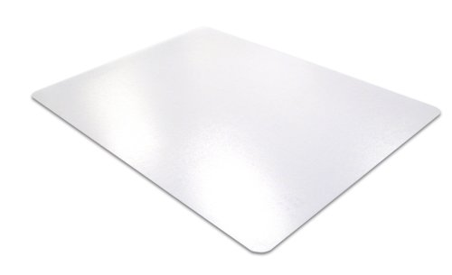 Desktex, Desk Protector Mat, Anti-Slip and Strong Polycarbonate, Rectangular, Clear, 35'''' x 71'''' (FPDE3571RA) by Floortex