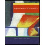 Applied Finite Mathematics (University of Connecticut) 9781111983680