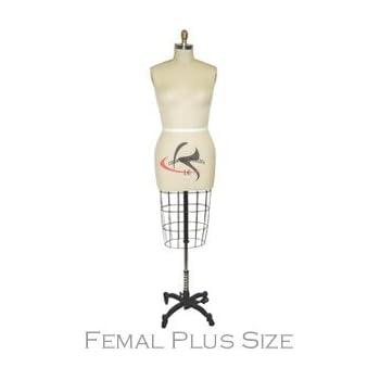 Amazon Model 601 Professional Female Half Body Dress Forms For