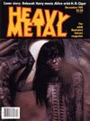Heavy Metal December 1981