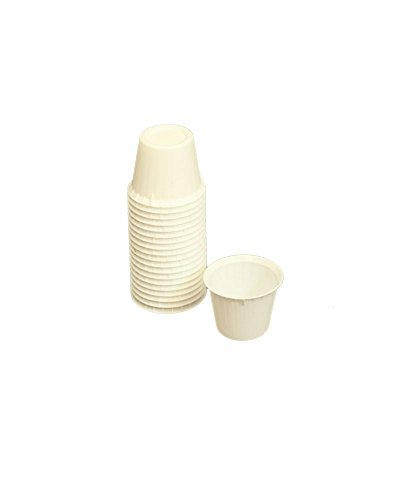 OakRidge Products Souffle Cups, White, 500 Count