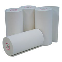 Universal 35765 Single-Ply Thermal Paper Rolls, 4 3/8
