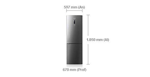 Samsung RL56GTBIH nevera y congelador Independiente Acero ...