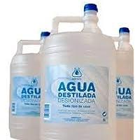 Agua destilada garrafa 5 lto