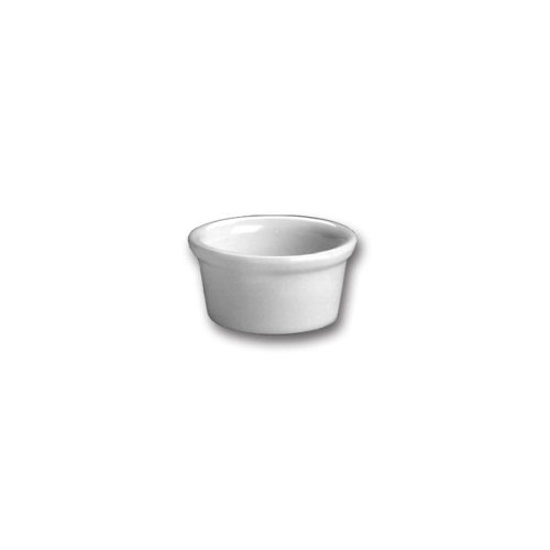 Hall China 362-WH White 2.5 Oz. Ramekin - 36 / CS