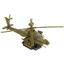True Heroes Sky Warriors Die-Cast Helicopter - Green AH-64 Apache Longbow (Apache Ah 64 Longbow)