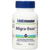 Life Extension MIGRA-Eeze Butterbur-Ginger-Riboflavin, 60 softgels Thank you for using our service