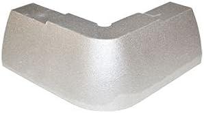 Supreme Style Rear Corner Cap, Aluminum