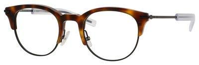 Christian Dior Homme Eyeglasses 0202 G60 Havana Black Frame 49-22-145 - Cd Frame Christian Eyeglasses Dior