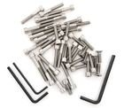 - Stainless Steel Allen Bolt Set - Compatible with Honda CT90 Trail 90-1966-1979-40 Bolts