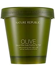 - Nature Republic Natural Olive Scalp Cooling Hair pack 200ml