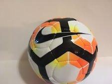 Nike Catalystサッカーボール、サイズ5ホワイト/マンゴーオレンジ/ボルトイエロー B073NCWNB8