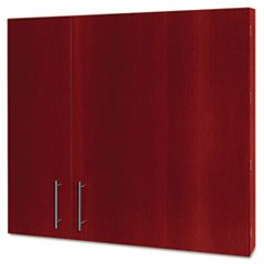 MasterVision CAB01010130 Conference Cabinet, Porcelain Magnetic, Dry Erase, 48 x 48, Cherry