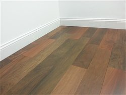 "Torowood Brazilian Walnut Ipe 5"" Solid Prefinished Hardwood Flooring Builder Sample"